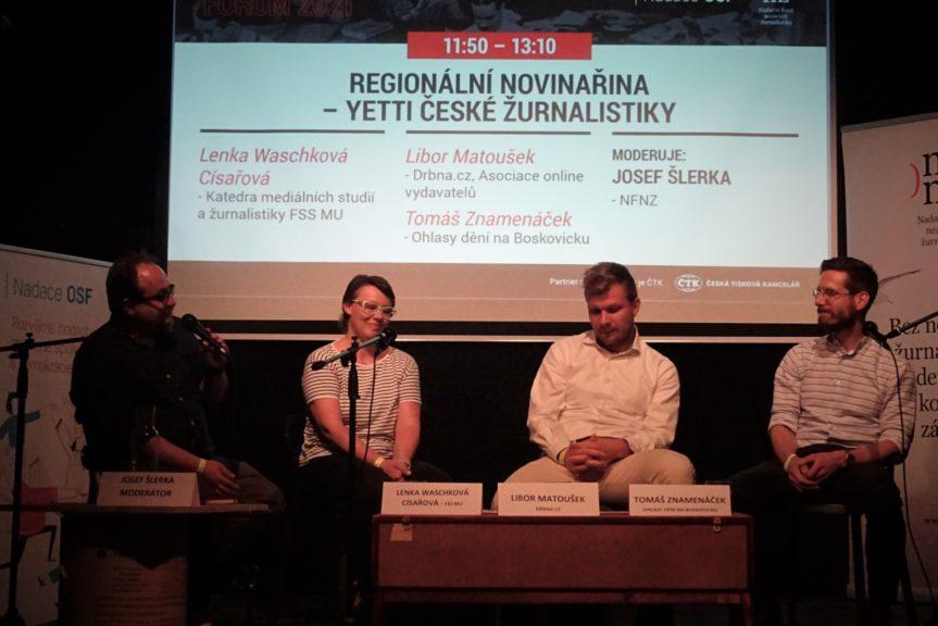 Novinářské fórum 2021